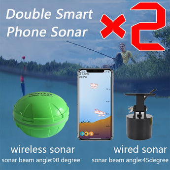 Brand New Smart Phone Sonar Sensor Bluetooth Intelligent Fish Finder Wireless Free Shipping - Pro Gear Fishing Reels