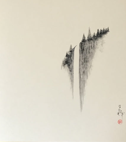 Waterfall (Shikishi)