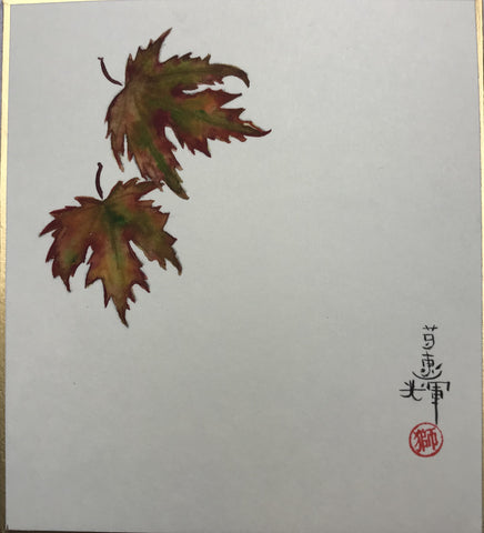 Maple leaves - autumn