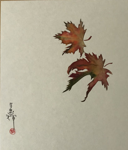 Maple leaves (18 x 21 cm)