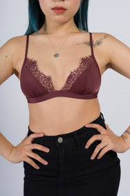 Sharlene Silk Bralette