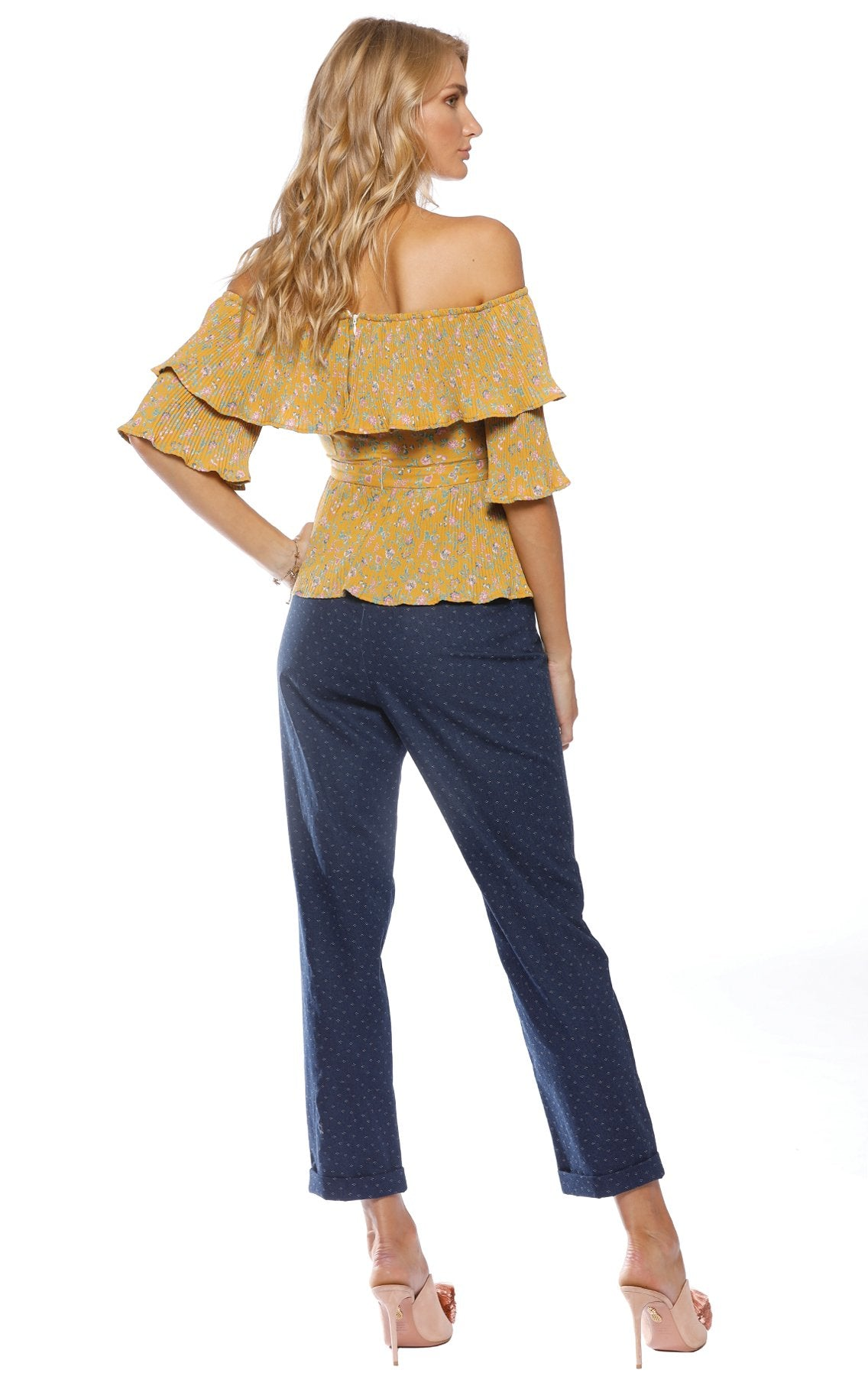 Pasduchas Sonny Pleat Blouse - Stevie May, The East Order, Talulah, Pasduchas, Everly Collective