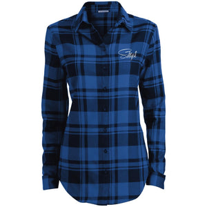 LW668 Ladies' Plaid Flannel Tunic