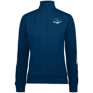 4397 Ladies' Performance Colorblock Full Zip