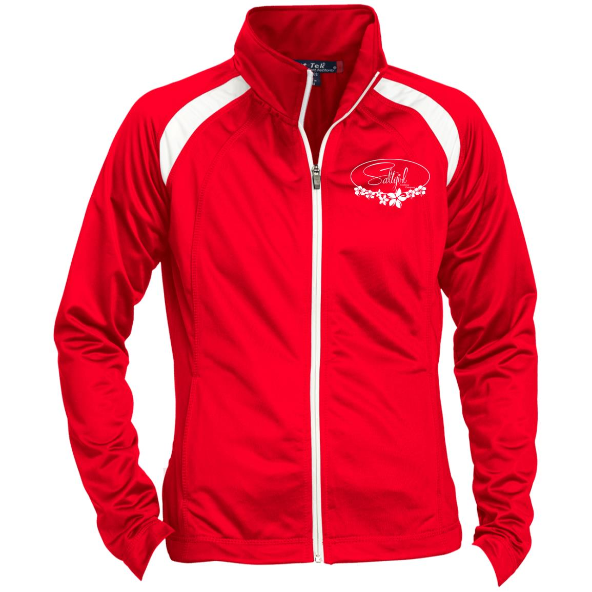 LST90 Ladies' Raglan Sleeve Warmup Jacket