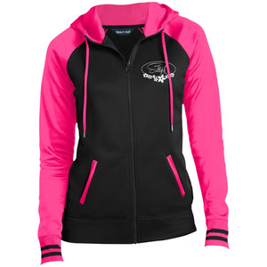 LST236 Ladies' Moisture Wick Full-Zip Hooded Jacket