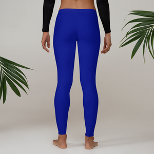 Royal  Blue Leggings - Saltgirl Clothing - Women's Saltwater Fishing Apparel and Swimwear