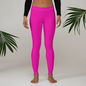 Neon Pink Leggings - Saltgirl Clothing - Women's Saltwater Fishing Apparel and Swimwear