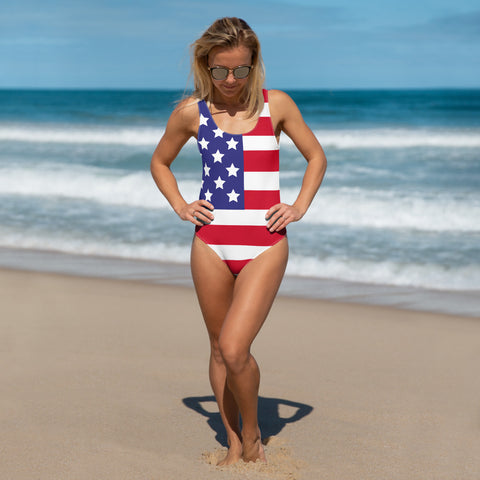 USA One-Piece Swimsuit