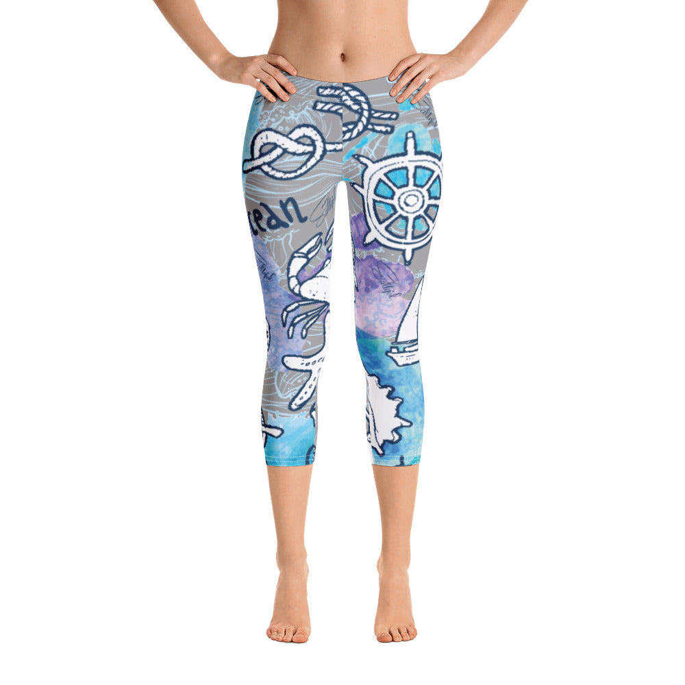 Sea Adventure Capris - Saltgirl Clothing - Women's Saltwater Fishing Apparel and Swimwear