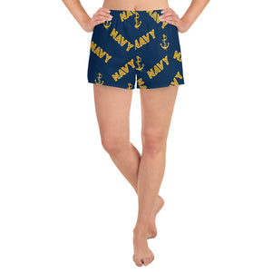 SARI Go Navy Athletic Shorts - Saltgirl Clothing - Women's Saltwater Fishing Apparel and Swimwear