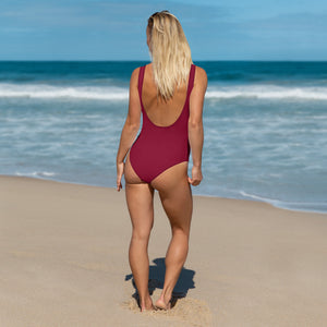 Crimson Red One-Piece - Saltgirl Clothing - Women's Saltwater Fishing Apparel and Swimwear