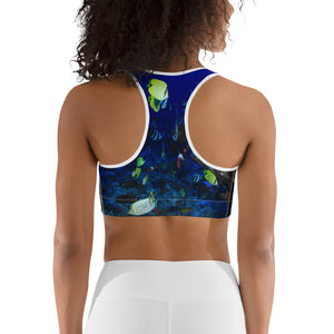 Aquarium Dream Sports Bra