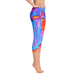 Jellyfish Saltgirl Capris - Saltgirl Clothing - Women's Saltwater Fishing Apparel and Swimwear