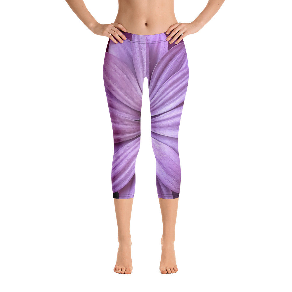 Purple Peace Capris