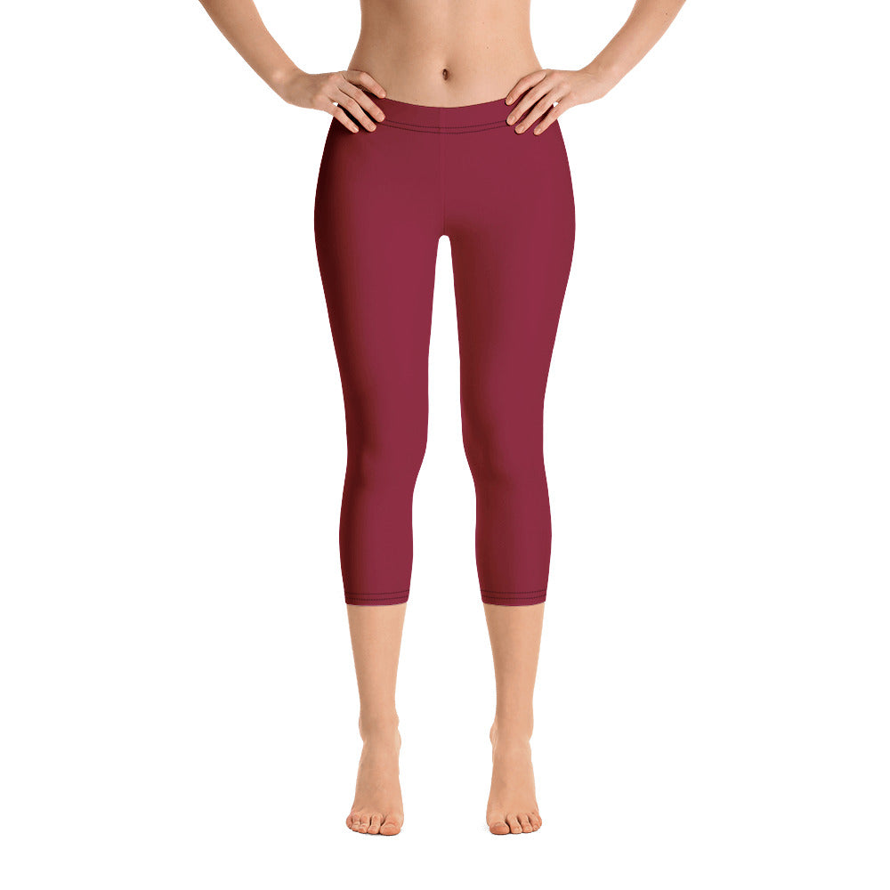 Crimson Red Capris - Saltgirl Clothing - Women's Saltwater Fishing Apparel and Swimwear