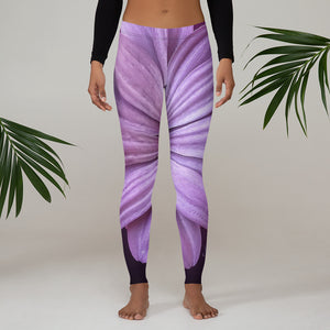 Purple Peace Leggings