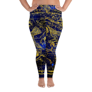 Delphinus Plus Size Leggings