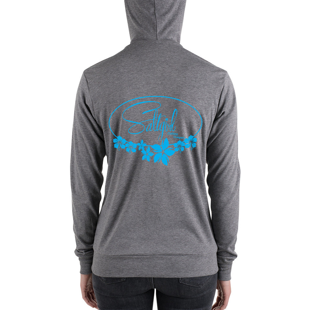 Unisex zip hoodie - Saltgirl Clothing - Women's Saltwater Fishing Apparel and Swimwear