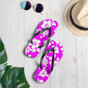 Hawaiian Beauty Flip-Flops - Saltgirl Clothing - Women's Saltwater Fishing Apparel and Swimwear