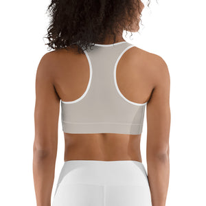 Total Taupe Sports Bra