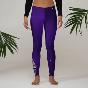 Purple Sky Leggings
