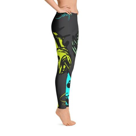 Barracuda Babe Leggings - Saltgirl Clothing - Women's Saltwater Fishing Apparel and Swimwear