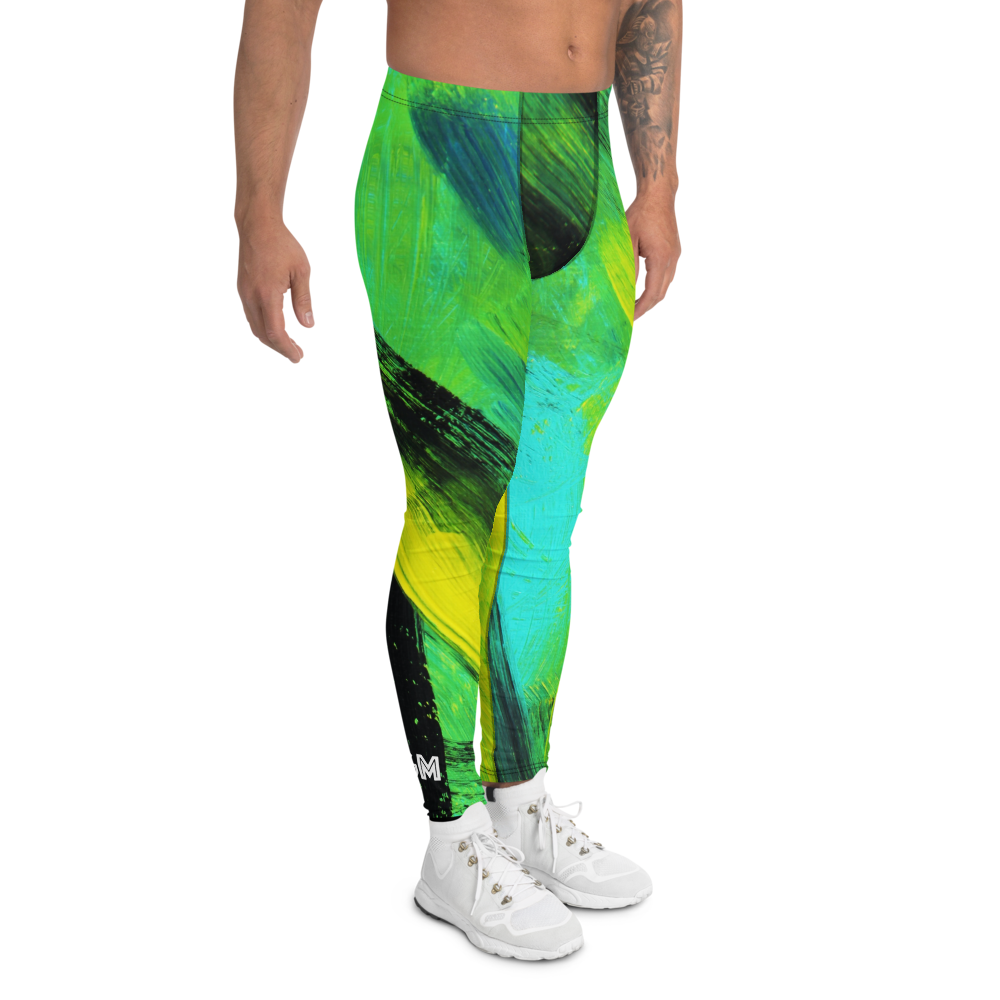 Mahi Mahi Green - Men's Leggings