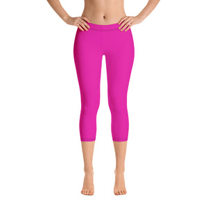 Neon Pink Capris - Saltgirl Clothing - Women's Saltwater Fishing Apparel and Swimwear