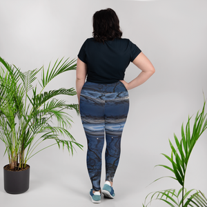 Bluewater Shimmer Plus Size Leggings
