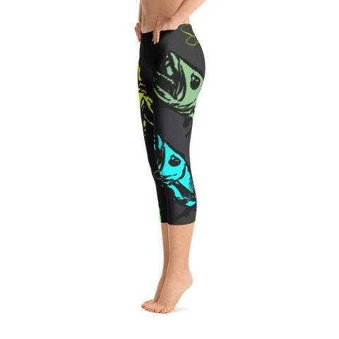 Barracuda Babe Capris - Saltgirl Clothing - Women's Saltwater Fishing Apparel and Swimwear