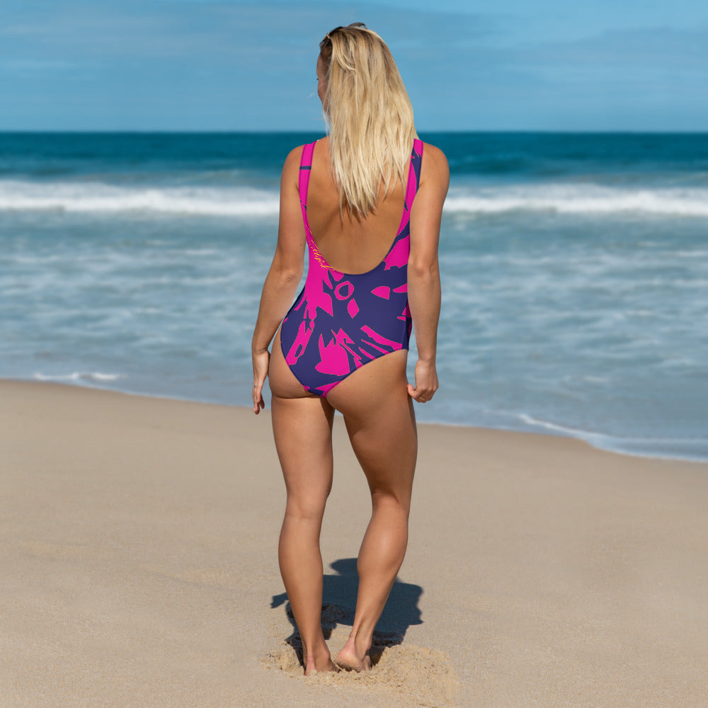 Pink Octopus One-Piece - Saltgirl Clothing - Women's Saltwater Fishing Apparel and Swimwear