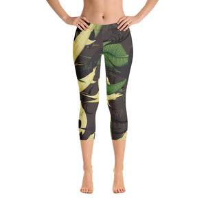Bad to the Bone Billfish Capris - Saltgirl Clothing - Women's Saltwater Fishing Apparel and Swimwear