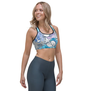 Sea Adventures Sports Bra