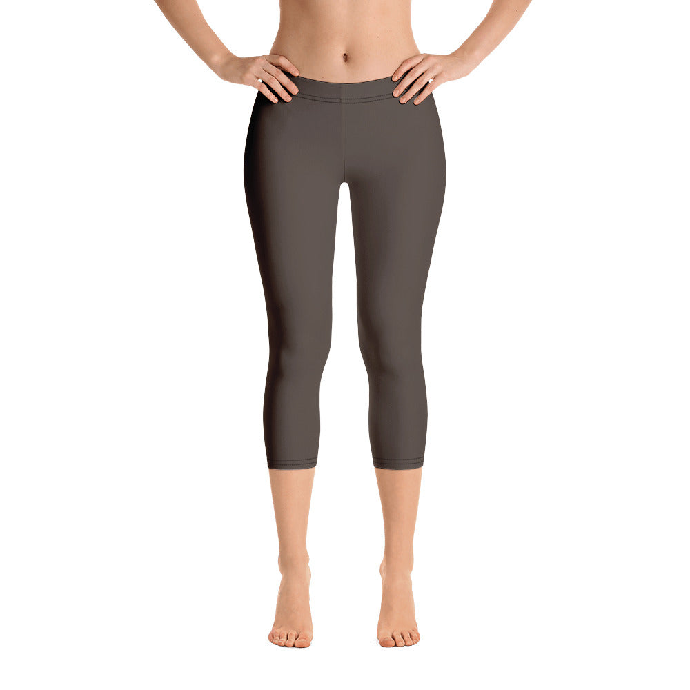 Chocolate Brown Capris - Saltgirl Clothing - Women's Saltwater Fishing Apparel and Swimwear