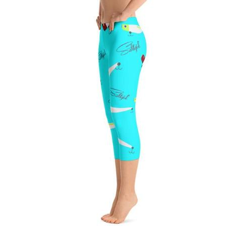 Lora Lure Capris - Saltgirl Clothing - Women's Saltwater Fishing Apparel and Swimwear