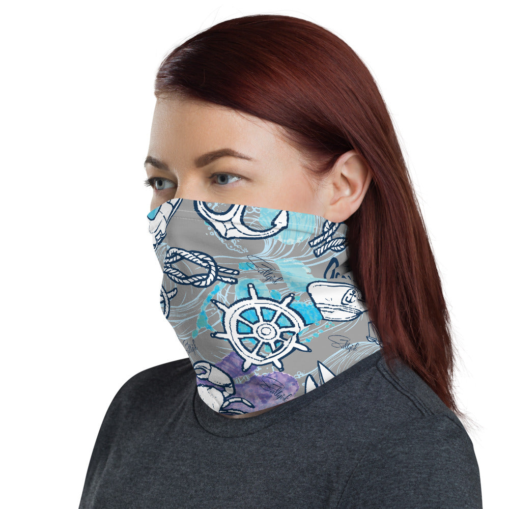 Sea Adventure Face Mask - Saltgirl Clothing - Women's Saltwater Fishing Apparel and Swimwear