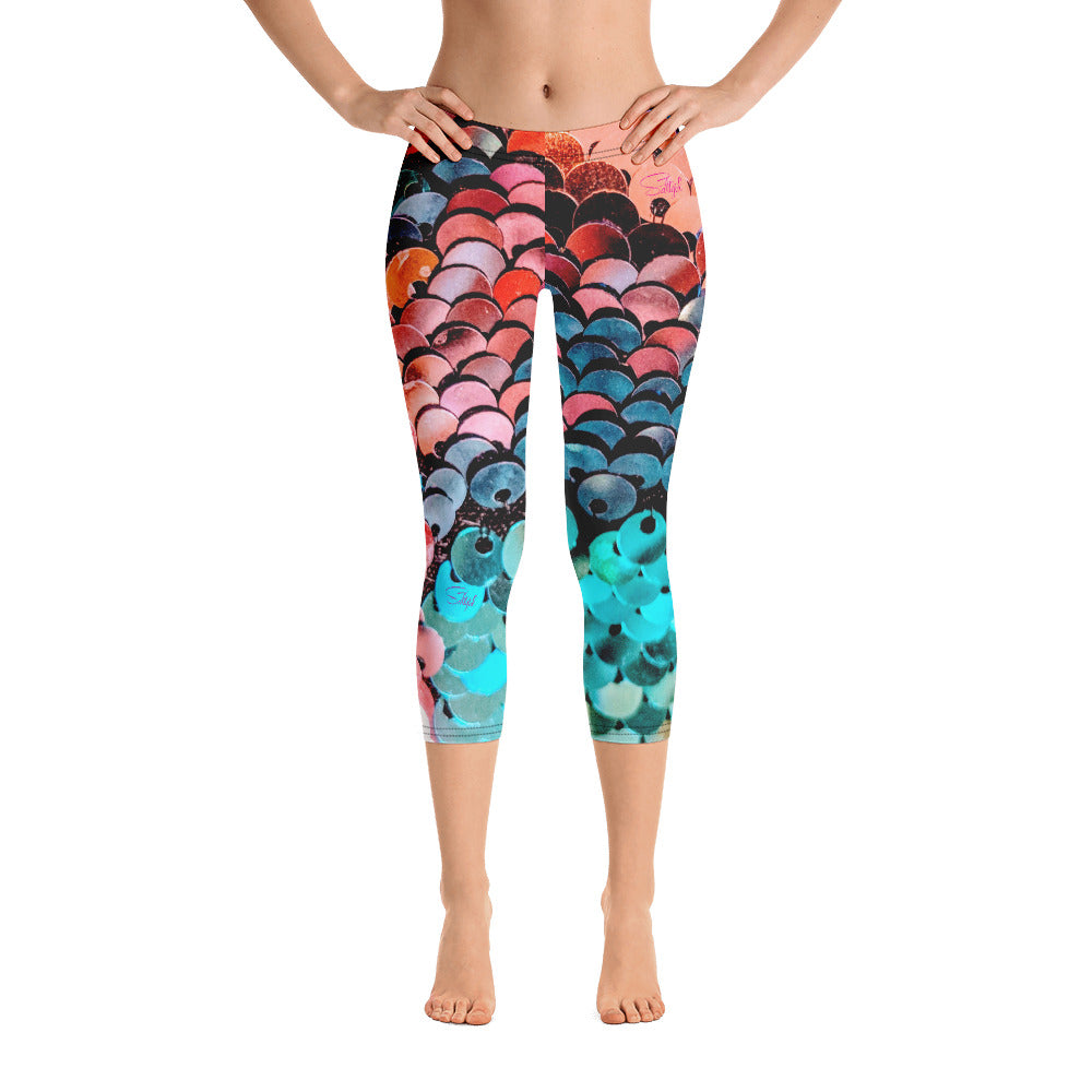 Capri Leggings - Saltgirl Clothing - Women's Saltwater Fishing Apparel and Swimwear