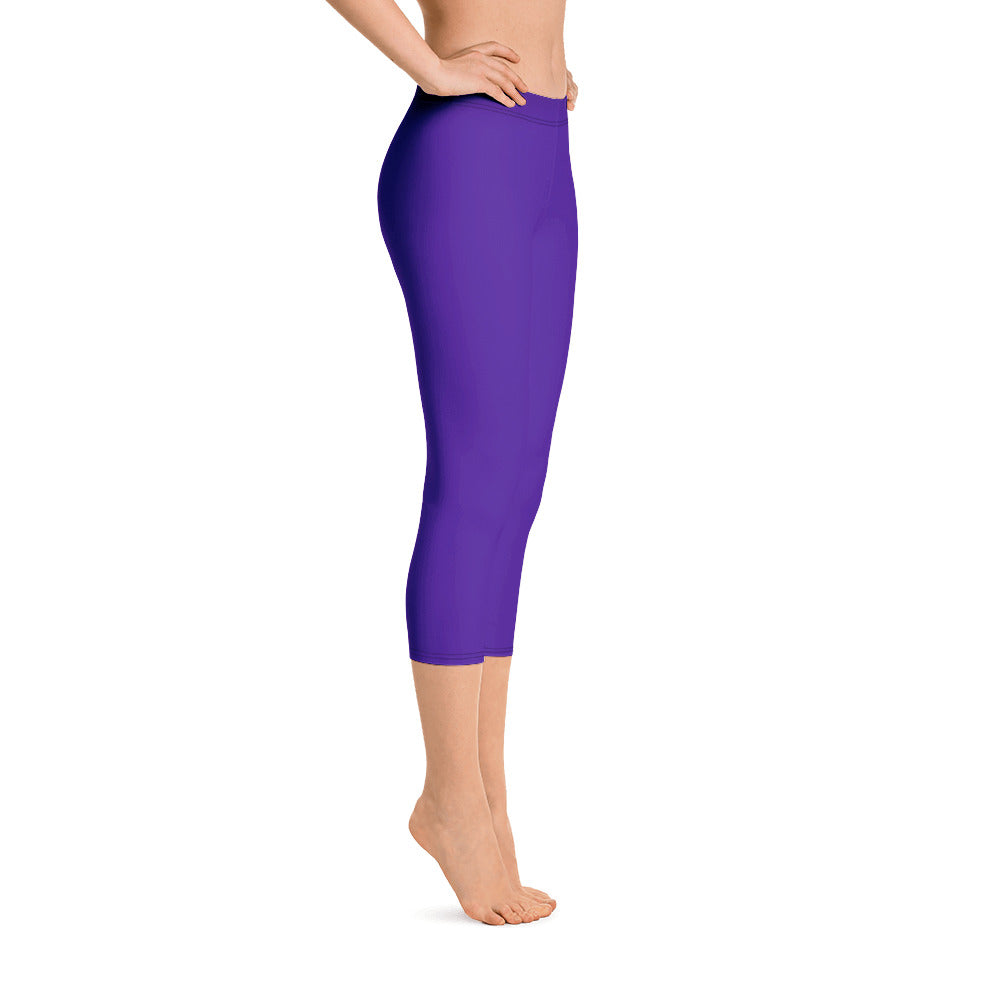 Purple Passion Capris - Saltgirl Clothing - Women's Saltwater Fishing Apparel and Swimwear