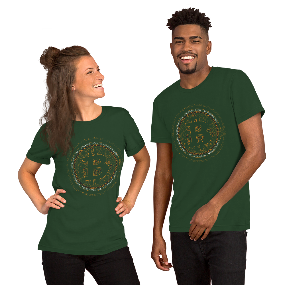 DISRUPT MEISTER  BITCOIN GOLD T-Shirt