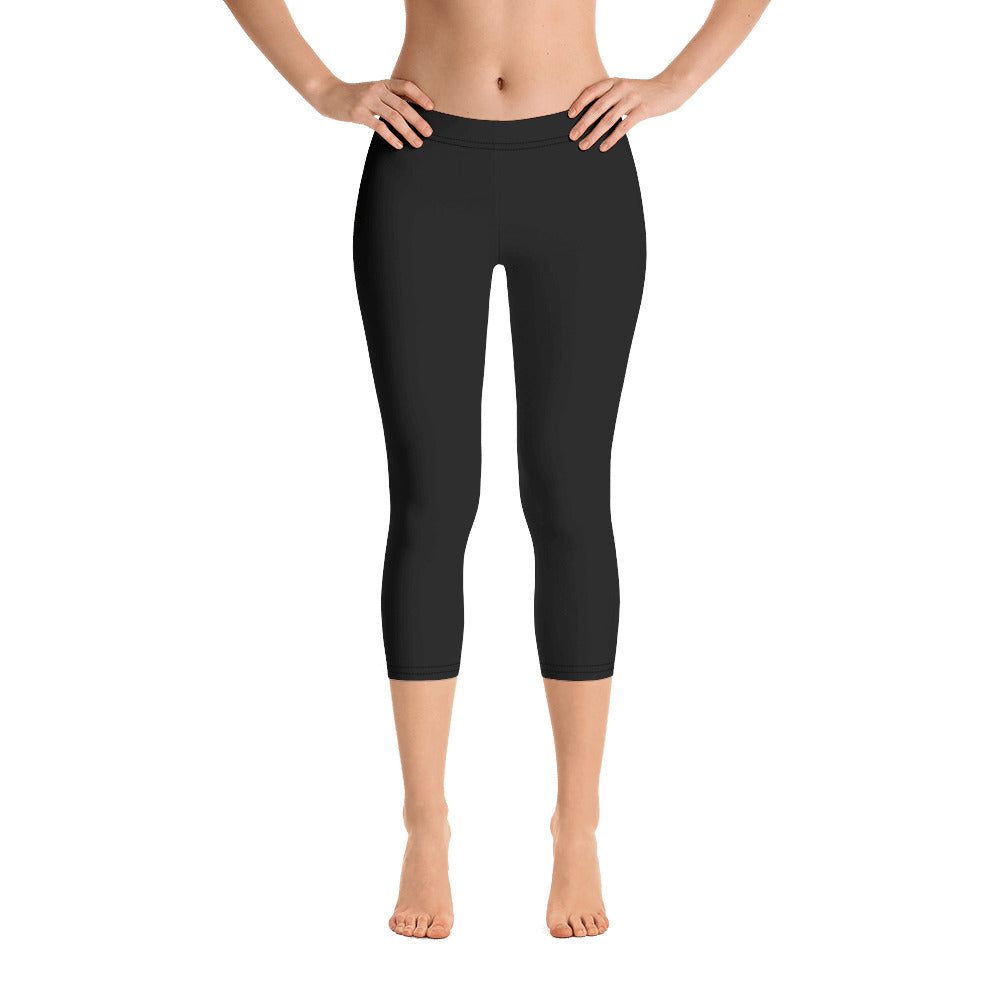 Midnight Black Capris - Saltgirl Clothing - Women's Saltwater Fishing Apparel and Swimwear
