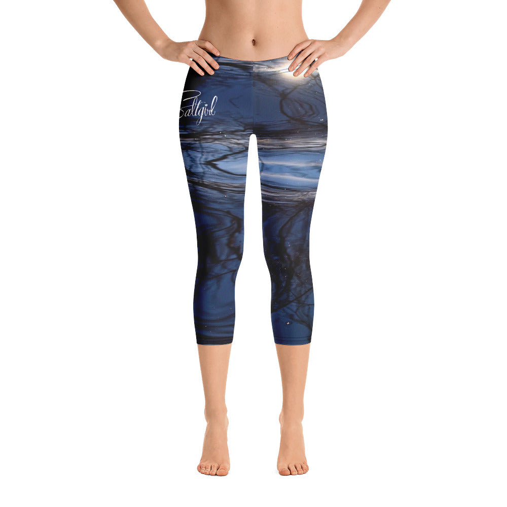 Bluewater Shimmer Capris - Saltgirl Clothing - Women's Saltwater Fishing Apparel and Swimwear