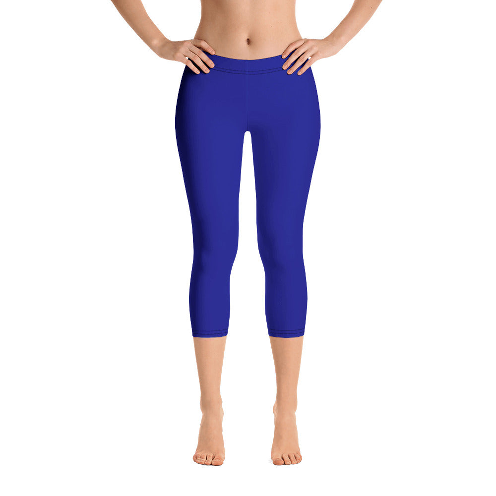 Royal Blue Capris - Saltgirl Clothing - Women's Saltwater Fishing Apparel and Swimwear