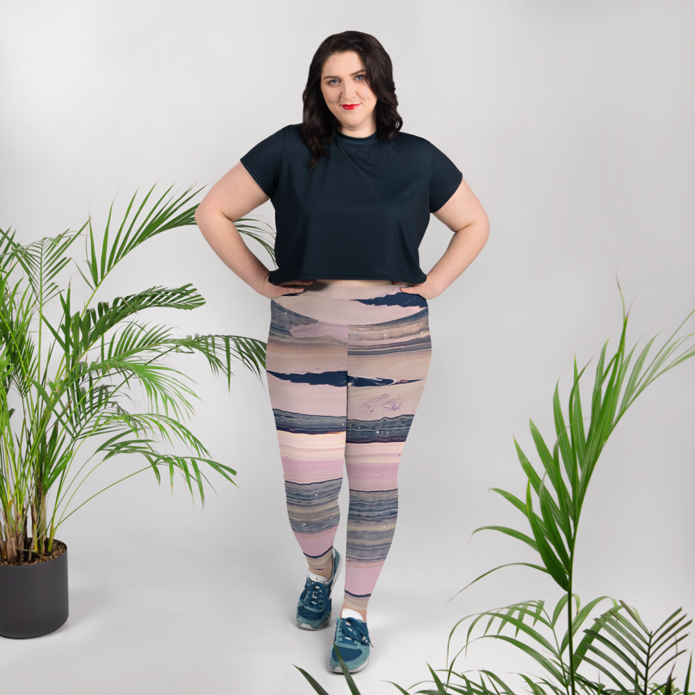 Sands of Time Plus Size Leggings