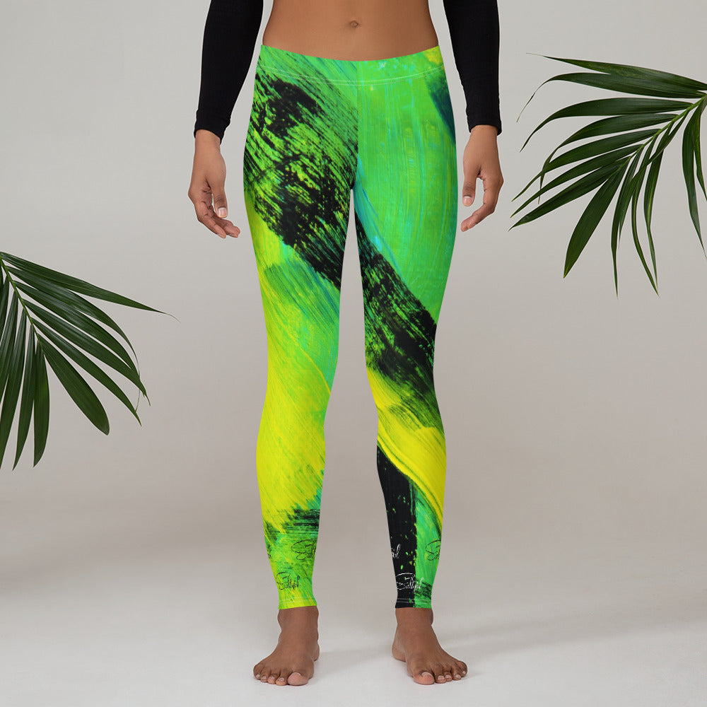 Mahi Mahi Green Leggings