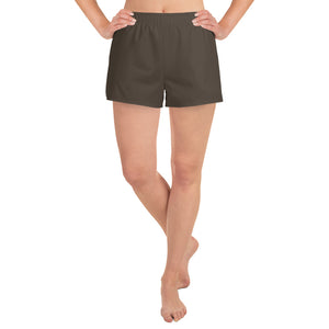 Chocolate Brown Athletic  Shorts - Saltgirl Clothing - Women's Saltwater Fishing Apparel and Swimwear