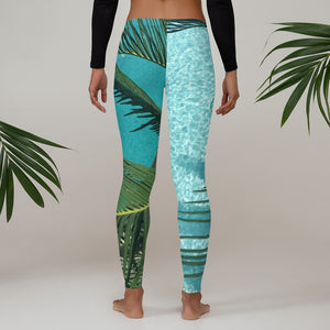 Palm Tree Sunshine Leggings
