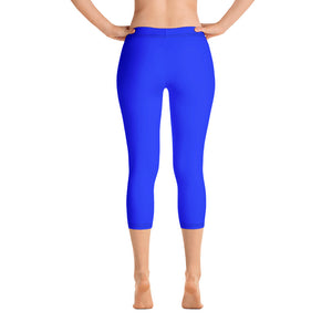 Tickle Blue Capris - Saltgirl Clothing - Women's Saltwater Fishing Apparel and Swimwear