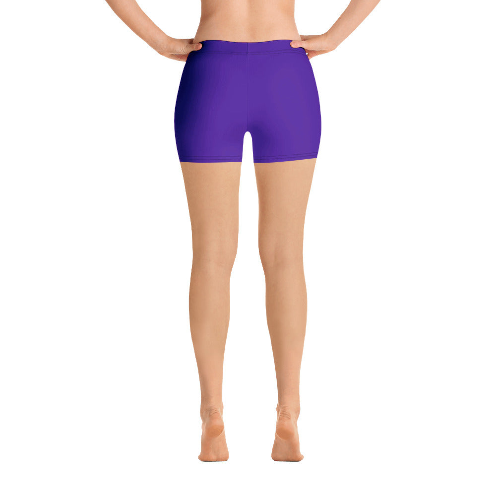 Purple Passion Print Shorts - Saltgirl Clothing - Women's Saltwater Fishing Apparel and Swimwear
