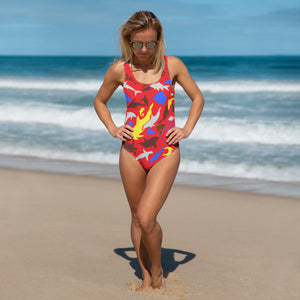 I love the Sea Emily One-Piece Swimsuit - Saltgirl Clothing - Women's Saltwater Fishing Apparel and Swimwear